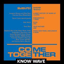 MoMA PS1 Come Together: Matt Werth & Dean Bien dj sets & interview w Imogene Strauss and Eliza Ryan
