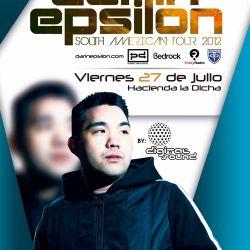 Darin Epsilon - Live at Hacienda La Dicha in Popayan, Colombia [July 27 2012]