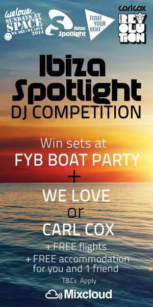 Ibiza Spotlight 2014 DJ competition
