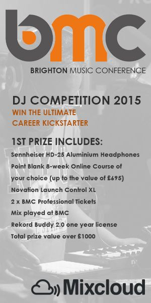 Brighton Music Conference Mix Competition 2015