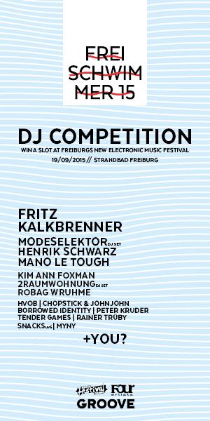 FREISCHWIMMER15 DJ Competition