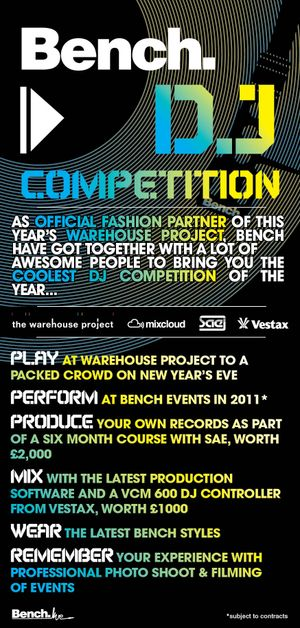 Bench DJ Competition