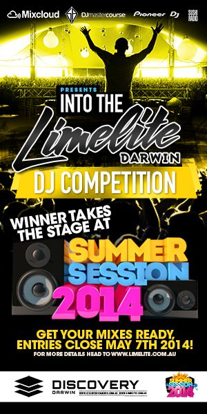 Into the Limelite DJ Competition 2014 Darwin