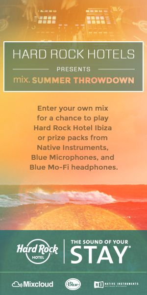 Hard Rock Hotels: Mix Summer Throwdown