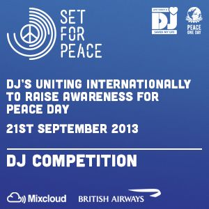 Set for Peace 2013 DJ Competition