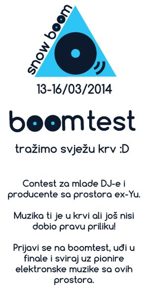Snowboom Festival DJ Competition