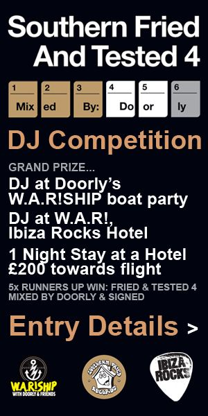 Southern Fried & Tested/W.A.R DJ competition
