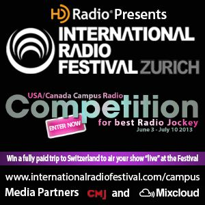 IRF Search for the Best US/Canada College Radio Jockey 2013