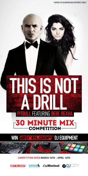 DJcity X Reloop Mix Competition hosted by Pitbull