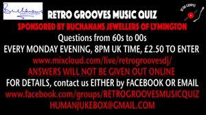 Retro Grooves Music Quiz