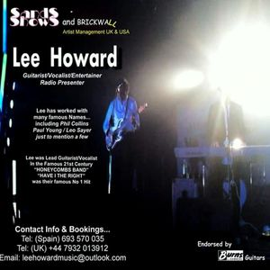 """Be Turned on!  LEE HOWARD on """"Howard's Way & A Bit More Show"""" Saturday 26th March 2016 (NEWS OUT)"""