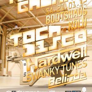 Hardwell - Live @ Tocacabana Party, Bootshaus, Colónia, Alemanha (21.01.2012)