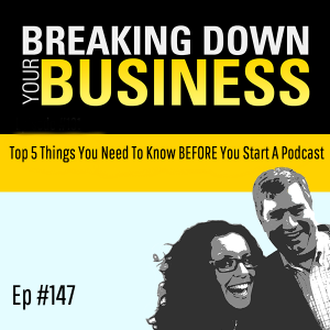 Top 5 Things You Need To Know BEFORE You Start A Podcast w/ Laura Kalister| Small Business | Entrepr