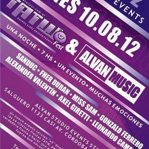 "ALVAN SEESION vs TATW FEST @ ALVAN STUDIO EVENTS STAGE ""2"" (Podium)"
