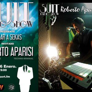 SUIT RADIO SHOW_ROBERTO APARISI