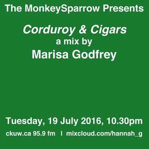Corduroy & Cigars- a mix by Marisa Godfrey - The MonkeySparrow