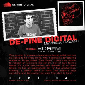 DTMIX041 - De-Fine Digital [Manchester, ENGLAND]
