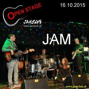 JAM auf der OPEN STAGE vom 16.10.2015