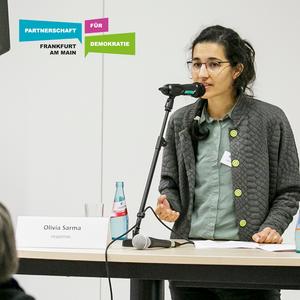 Demokratiekonferenz - Vortrag: Von Solidaritätsbekundungen & Allianzen - Olivia Sarma - Nov 2019