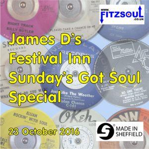James D's Fitzsoul Festival Inn Soul On Sunday Special October 2016
