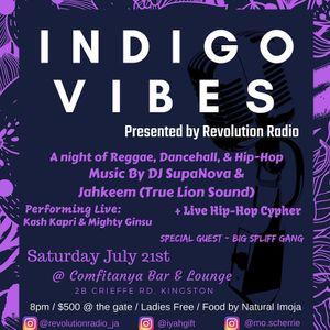 Selecta Jahkeem at Indigo Vibes July 2018 (Reggae & HipHop)