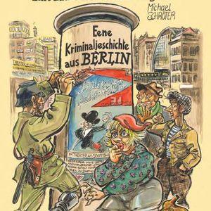 Funkhaus Prenzlauer Berg mit Comic-Zeichner Michael Schroeter und Jenz Steiner