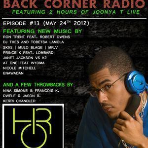 BACK CORNER RADIO: Episode #13 (May 24th 2012)