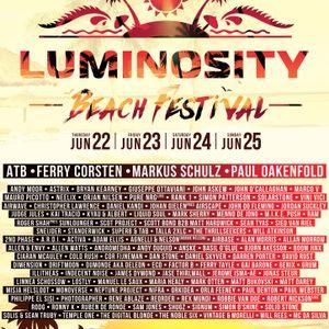 Jase Thirlwall Live @ Luminosity Beach Festival 2017 – 10 Years Anniversary 24-06-2017