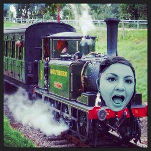 Rebecca's TRAIN Hour ! Toot Toot!