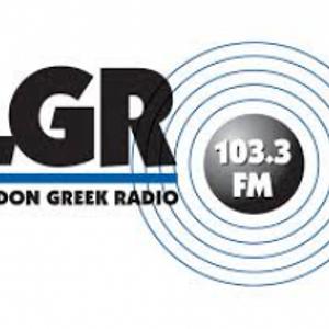 London Greek Radio, London, UK - 103.3 FM - 24 March 1993 at 0840