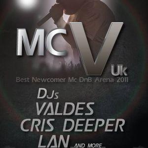 DJ Valdes + MC V * MC Duende live@Seven 26-12-2013