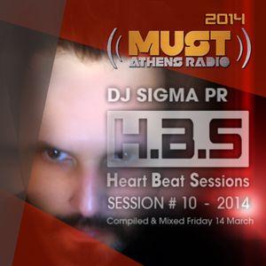 Dj Stergios T. aka Sigma Pr - HBS 14 March 2014 @ Radio Must (Athens)