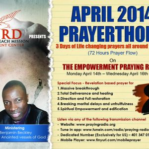 72 Hours Prayer Marathon: Session 2 by Prophetic Prayer Encounter