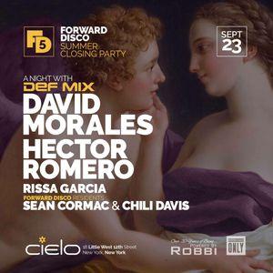 Hector Romero Live at Cielo NYC Sept 23 2017