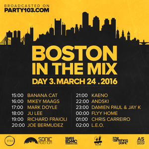 Jay K & Damien Paul - Boston In The Mix