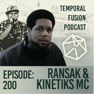 Liquid Drum & Bass Mix - Ransak & Kinetiks MC [Temporal Fusion #200 - 01.28.17]