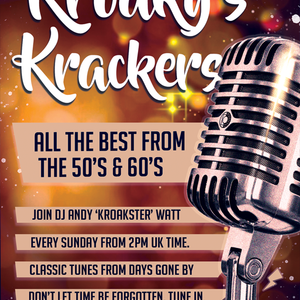 Kroaky's 50's & 60's Krackers With Andy Watt - July 19 2020 www.fantasyradio.stream