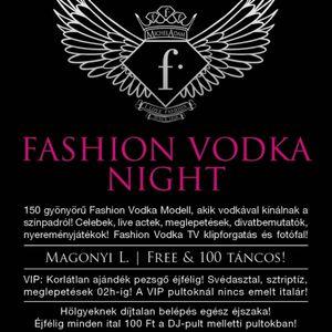 Dj Free & Magonyi L - Live @ Studio Budapest Fashion Vodka Night 2012.04.28.