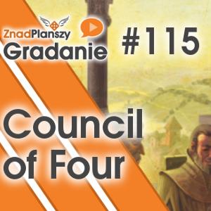 Gradanie ZnadPlanszy #115 - Council of Four