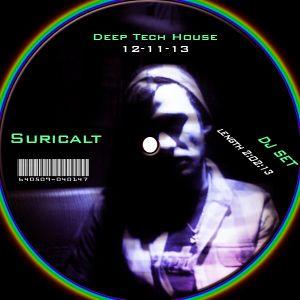 Deep Tech House Mixed By Suricalt  12-11-13