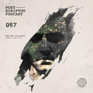 Post Scriptum 057 - Paride Saraceni Summer Studio Mix