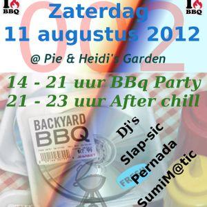 Pernada- preparing for villtec bbq 2012 - 6 augustus 2012 - 2 uur set
