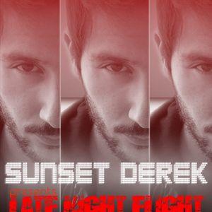 Sunset Derek pres. LateNightFlight BroadCast mix| February 2012