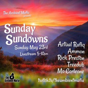 Ambient Mafia - Sunday Sundowns 5/23 (chillout / downtempo / all-vinyl)