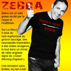 Addictive TV interviewed on DJ Zebra's 'Rock n Soul' show on national radio Le Mouv' in France.