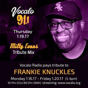 Frankie Knuckles Birthday Celebration - Milty Evans's Tribute Mix (Day Four) Hour One 1.19.17