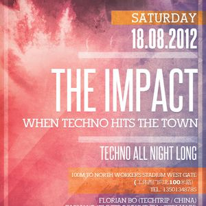 The Impact - Florian Bo live @ Lantern Club Beijing 18.08.2012