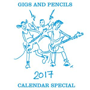 Gigs and Pencils Calendar special