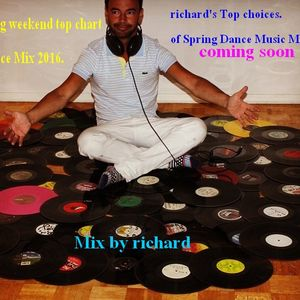 Top Chart Dance mix  1 hour Nonstop / mix by DJ RICK ( r i c h a r d )