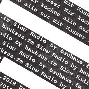 Wir kochen alle nur mit Wasser – Slow Radio (4/4) (Sendung vom 21. Juni 2018)